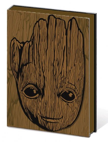 Guardians of the Galaxy 3D Groot Head A5 Notebook